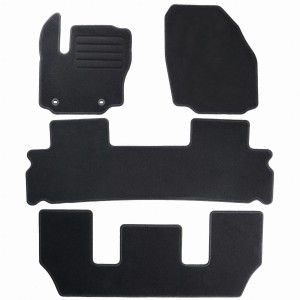 Dywaniki Basic Czarne do Ford Galaxy II 7m 2006-2012