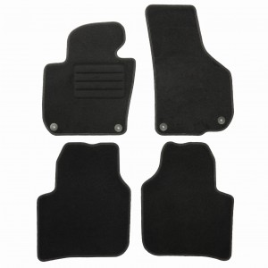 Dywaniki Basic Czarne do Skoda Superb II 2008-2015