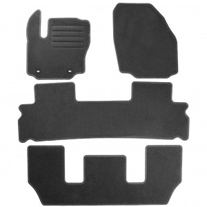 Dywaniki Basic Antracyt do Ford S-Max 7m 2006-2012