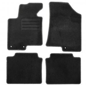 Dywaniki Basic Antracyt do Hyundai i40 2011-