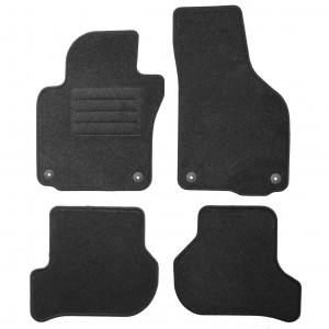 Dywaniki Basic Antracyt VW Golf VI 2008-2013